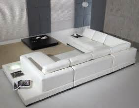modern white leather sofa modern leather sofa