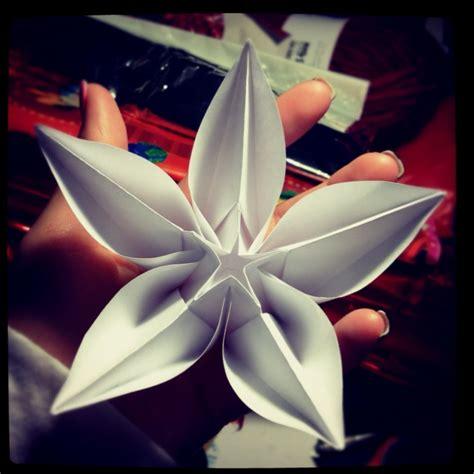 Large Origami - large origami flower floral fantasia