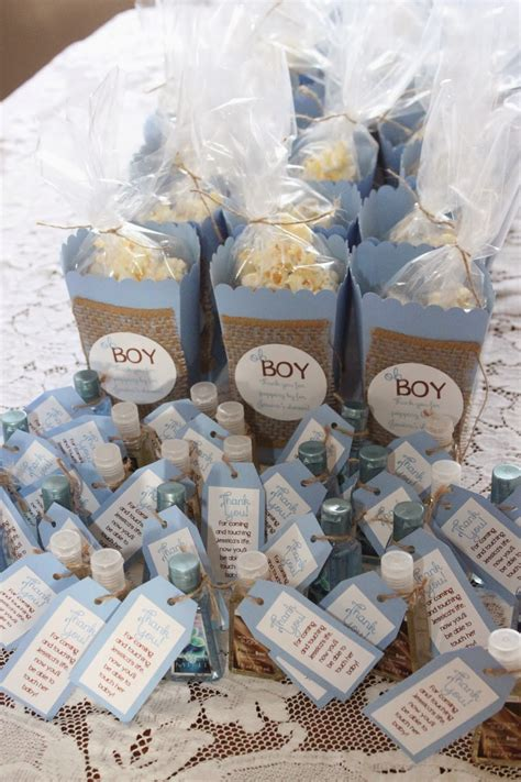 Favors For A Boy Baby Shower by My Aprons Oh Boy Baby Blue Shower