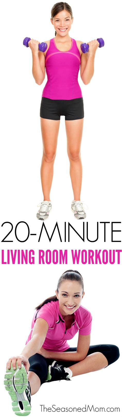 Living Room Workout by 20 Minute Living Room Workout The Seasoned