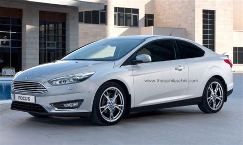 ford focus facelift 2014 wann 2014 ford focus facelift rendered as coupe autoevolution