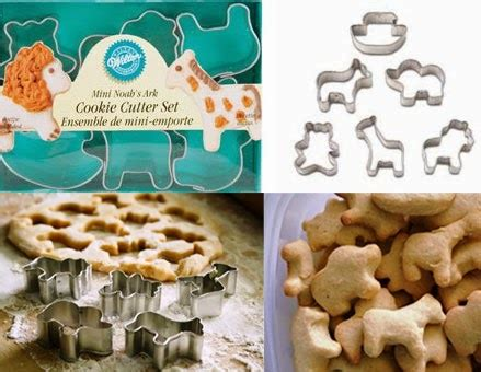 Cutter Animal Mix Isi 5 Pcs wilton mini cookie cutter noah s ark animals 6 pcs rp