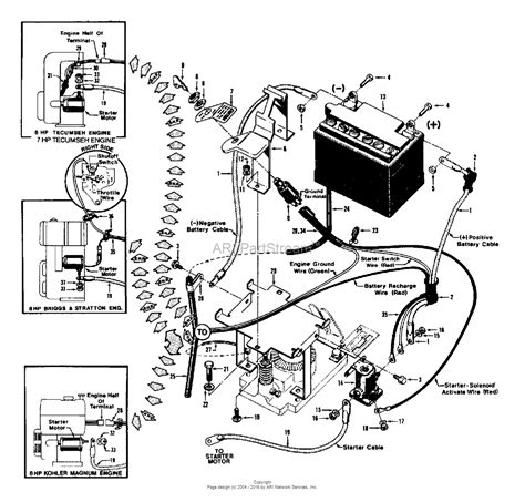troy bilt model ltx 1842 electrical wiring diagram 50