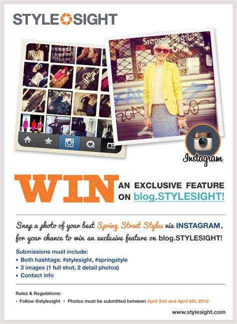 How To Pick A Winner On Instagram Giveaway - stylesight x instagram contest wgsn insider