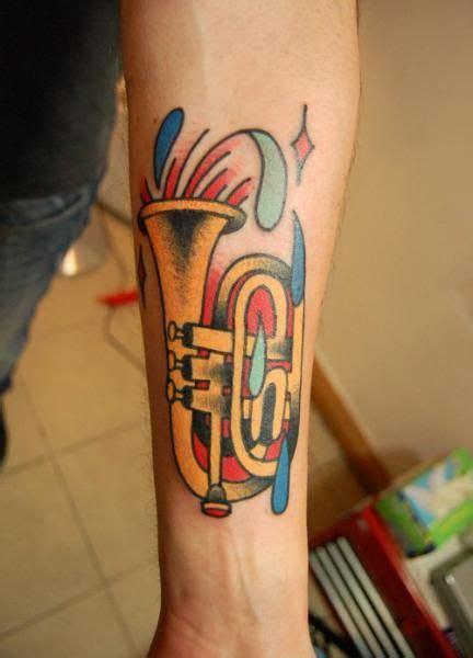 body canvas tattoo trumpet canvas trumpet tattoos