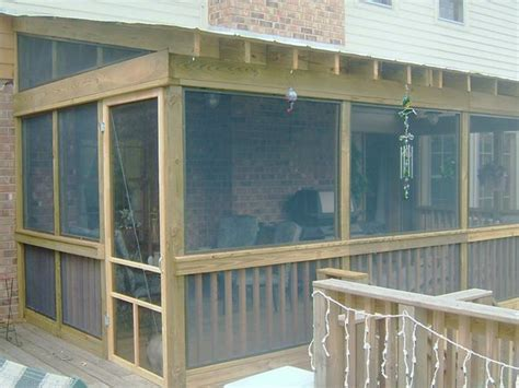 screen porch addition framing additions and general