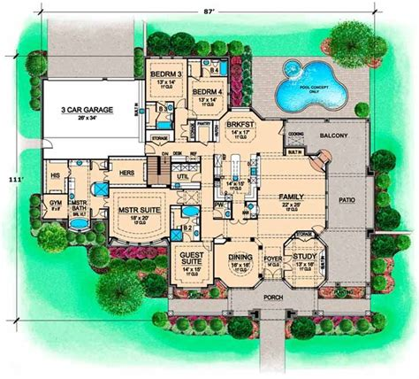 large 5 bedroom house plans 54 best images about minecraft on pinterest