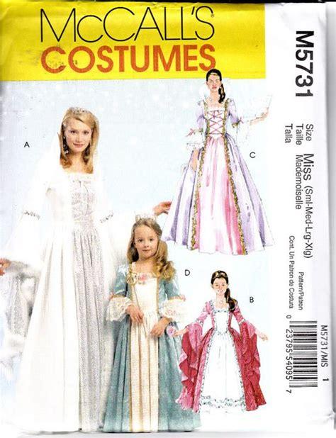 pattern rapunzel dress mccalls 5731 costume pattern little girls renaissance