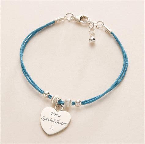 friendship bracelet engraved charm various colours