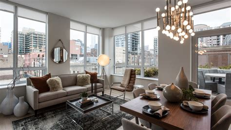 inside the hudson river s luxury apartment tower curbed chicago