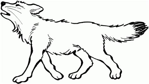 coloring page gray wolf free printable wolf coloring pages for kids