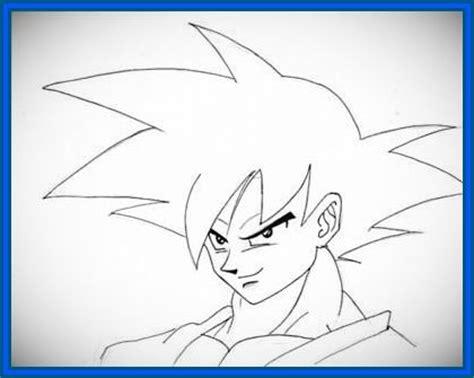 Imagenes Para Dibujar Faciles A Lapiz De Goku | fabulosas imagenes de dragon ball z para dibujar dibujos