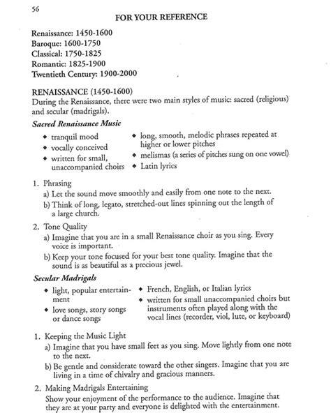 Quizlet Parent Letter History Nm Choir