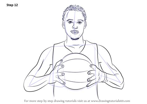 free curry coloring pages learn how to draw stephen curry basketball players step