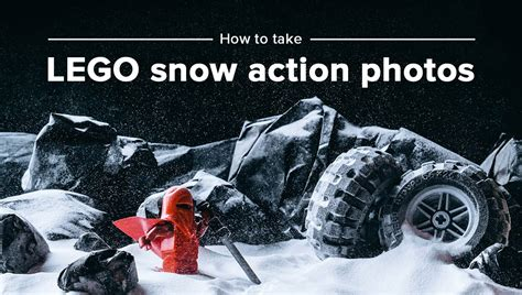 how to capture pattern in photography how to take lego snow action photos tutorial youtube