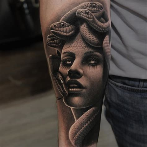 greek goddess tattoos medusa best ideas gallery