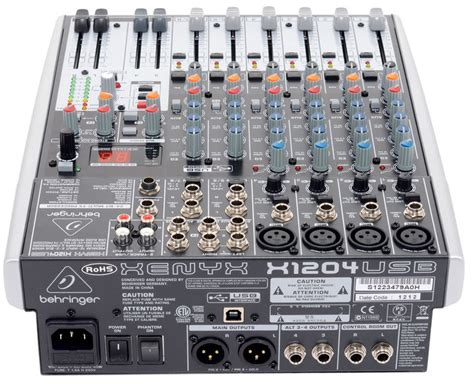 Mixer Behringer Xenyx X1204usb behringer xenyx x1204usb image 886767 audiofanzine