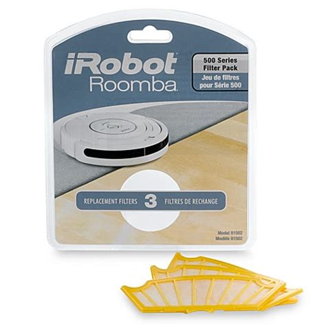 roomba bed bath beyond irobot 174 hepa filters for roomba 500 174 series set of 3