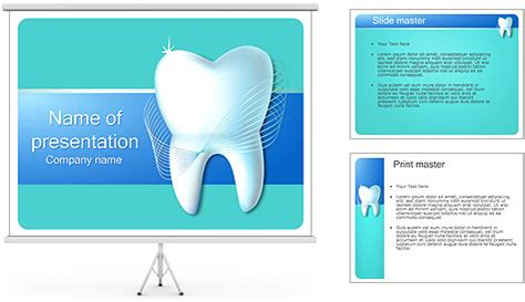 dental powerpoint templates free dental concept powerpoint template backgrounds id