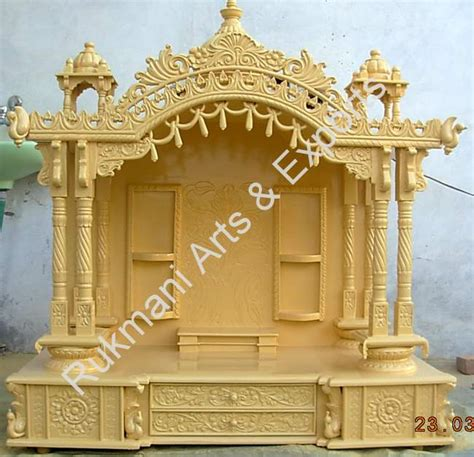 code 23 wooden carved teakwood temple mandir wooden