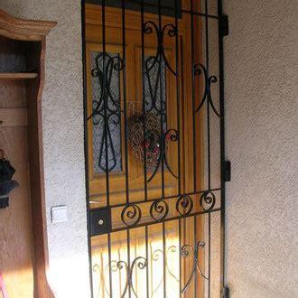 Grille De Defense Pour Porte by Grille De D 233 Fense Pour Porte D Entr 233 E Decofer Alu