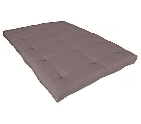 matelas coton matelas futon taupe en coton