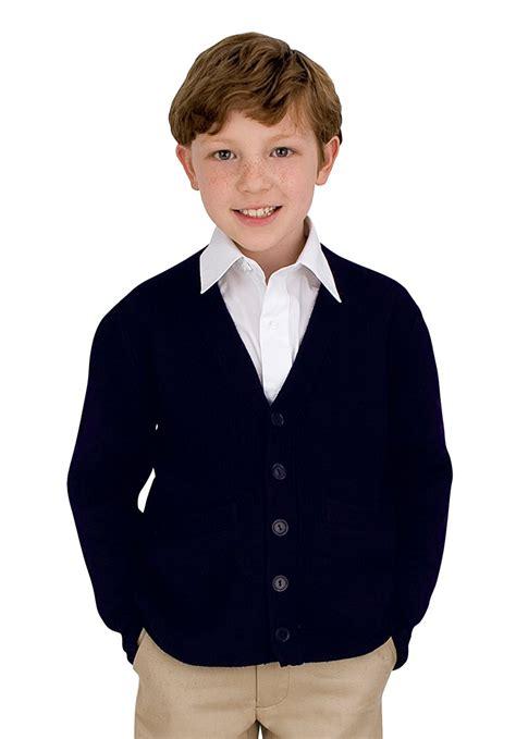 Sweatee Boy Black cardigan sweaters for boys