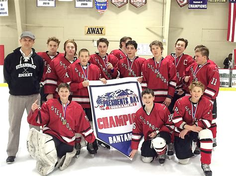 steamboat youth hockey tournament steamboat hockey wins two chionships steamboattoday