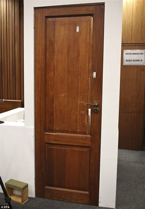 pistorius bathroom oscar pistorius trial reconstructs moment he broke door with cricket bat daily