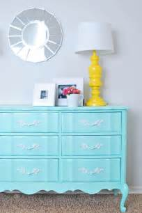 diy painted furniture easy diy projects on a dime brightly painted furniture