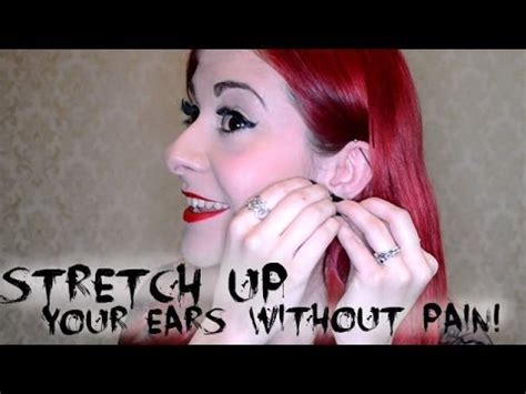 How To Your Ears Safely And Painlessly As Possible by How To Stretch Your Ears Without Safely