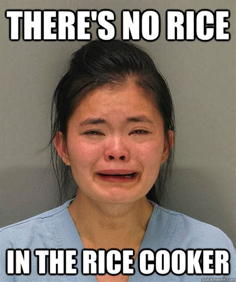 Funniest Meme Pics - there s no rice in the rice cooker asian first world