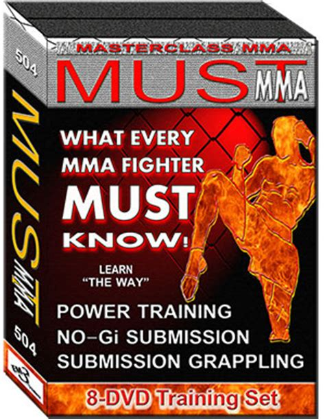 must mma dvd set