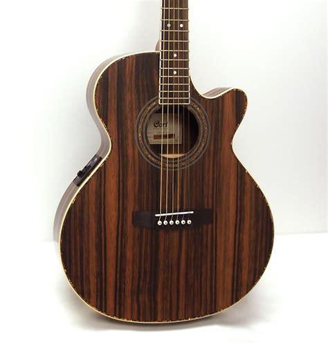 Gitar Akustik Elektrik Cort Tuner Belcat cort sfx je java acoustic electric guitar reverb