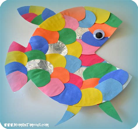 Crafts To Do With Paper Plates - summer reading adventure week 2 the rainbow fish