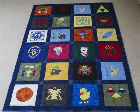 games quilt pattern thinking of quilting video games ign boards