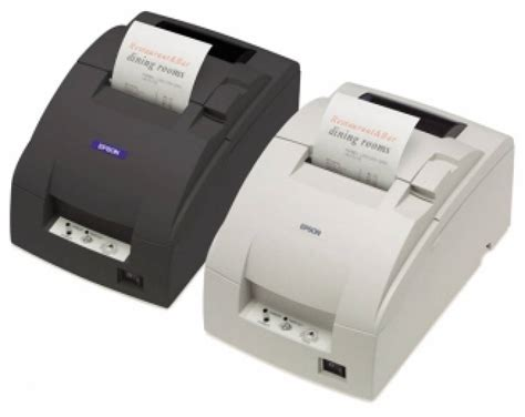 Printer Epson Tm U220b Usb Autocut Printer Kasir epson bonprinter tm u220b usb zwart supply service bv