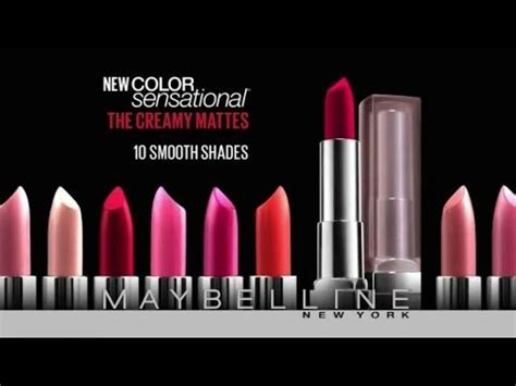 new york colors tv spot maybelline new york color sensational the