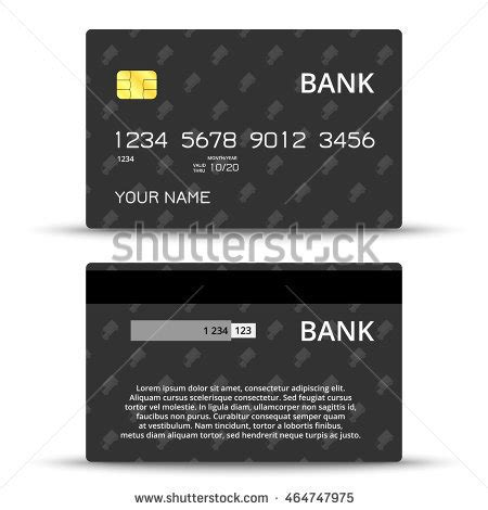 Credit Card Design Template Illustrator by Stock Images Royalty Free Images Vectors