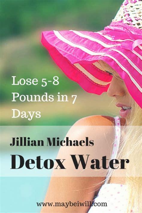 Ms Fitness Detox by Jillian Detox Water Recipe Water With Lemon