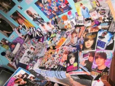 justin bieber bedroom my justin bieber room 2012 old youtube