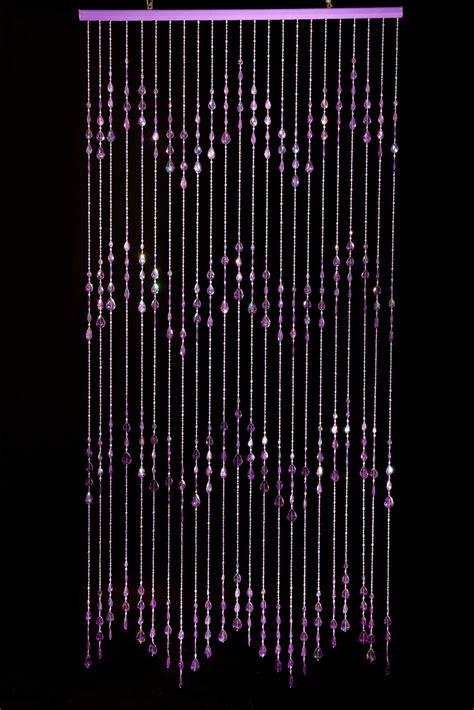 beads for door curtains beaded curtains big teardrops purple door beads