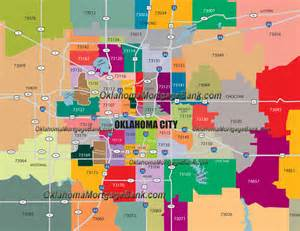 map of with zip codes oklahoma city zip code map oklahoma mortgage mortgage
