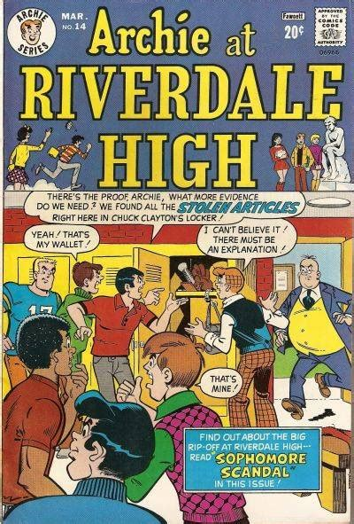 Archie Riverdale High archie at riverdale high 14 issue