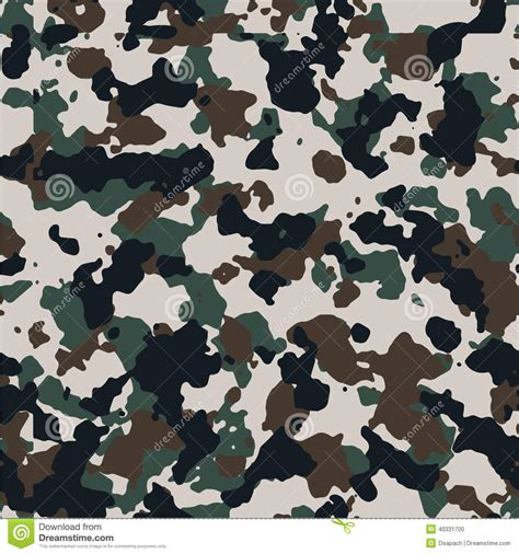 seamless european pattern central europe seamless camo pattern stock vector image