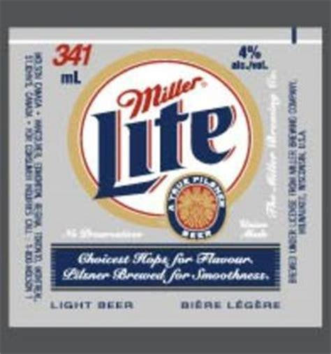 carbohydrates in miller 64 miller lite content