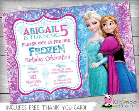 printable frozen invitations uk 25 best ideas about frozen birthday invitations on