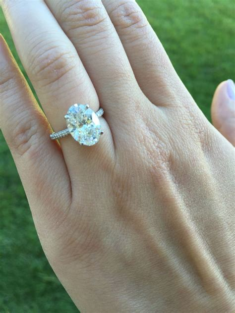 1 ct oval ring on 3 carat oval ring oval engagement rings