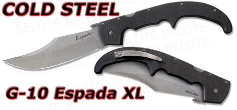 xl espada cold steel g 10 espada xl large folder 62ngx new ebay