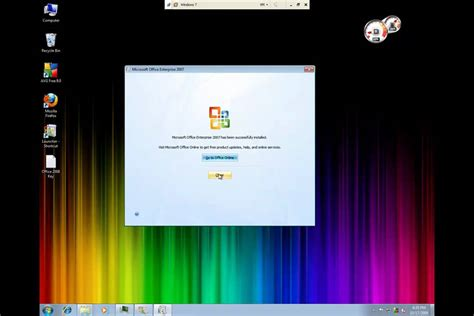 Office 2007 Et Windows 8 by How To Install Office 2007 Microsoft Windows 7 Also Works